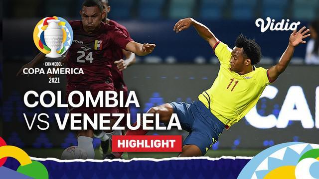 Berita video highlights laga seru Grup A Copa America 2021 antara Kolombia melawan Venezuela yang berakhir dengan skor 0-0, Jumat (18/6/2021) dinihari WIB.