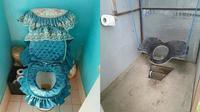 6 Desain WC Duduk Ini Unik Banget, Bikin Gagal Paham (Sumber: Twitter/@dapetrezeki/@underscoress__)