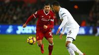 Juventus masih berusaha untuk mendatangkan Emre Can dari Liverpool pada bursa transfer Januari 2018. (AFP/Geoff Caddick)