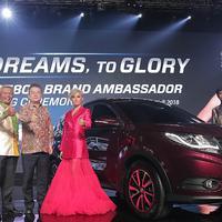 Agnez Mo merasa terhorman menjadi brand ambassador DFLK Glory 508. (Bambang E Ros/Bintang.com)
