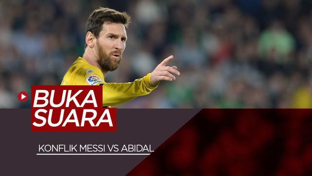 Berita Video wawancara Lionel Messi yang buka suara terkait konflik dengan Eric Abidal