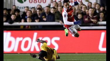 Arsenal, Sutton United, Piala FA