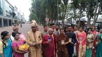 Perwakilan etnis Tamil hadiri pernikahan Kahiyang-Bobby