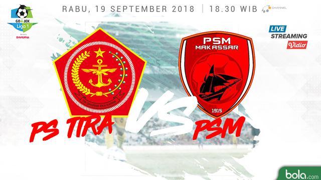 Liga 1 2018 PS Tira Vs PSM Makassar (Bola.com/Adreanus Titus)