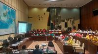 Rapat Dengar Pendapat (RDP) empat partai baru dan Pansus RUU Pemilu