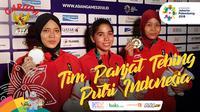 Garuda Kita Asian Games Tim Panjat Tebing Putri Indonesia (Bola.com/Adreanus Titus)