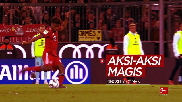 Berita video aksi-aksi magis gelandang Timnas Prancis untuk Piala Eropa, Kingsley Coman di Bundesliga