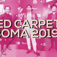 Penampilan Memukau Selebriti Tanah Air di Red Carpet IBOMA 2019