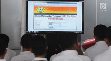 Ribuan Pelamar Ikuti Tes CPNS Kemenkumham