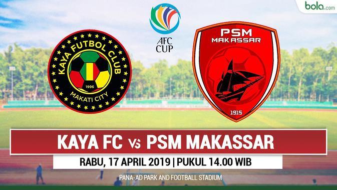 Jadwal Siaran Langsung Piala AFC 2019 di MNC TV: Kaya FC Vs PSM Makassar - Indonesia Bola.com