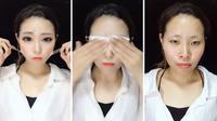 Transformasi makeup yang sangat luar biasa (photo: boredpanda)