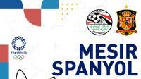 Olimpiade 2020 - Mesir Vs Spanyol (Bola.com/Adreanus Titus)