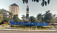 Rektorat Universitas Brawijaya Malang merespon cepat kabar yang menyebut ada mahasiswa suspect coronavirus Covid - 19 (Liputan6.com/Zainul Arifin)
