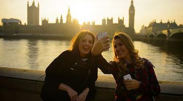 London Didapuk Jadi Ibu Kota Selfie Dunia