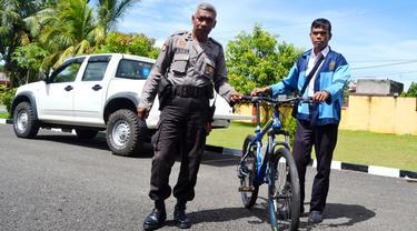 Terobos Landasan Pacu Bandara Siswa SMK Ditangkap Aparat