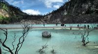 Kawah Putih Ciweday merupakan salah satu objek wisata andalan  yang terletak 50 kilometer selatan kota Bandung.