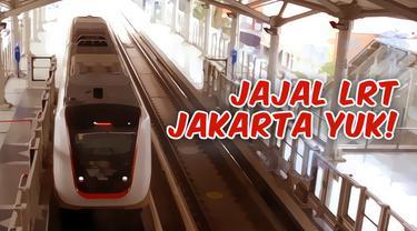 Setelah MRT Jakarta, sekarang LRT Jakarta juga sudah siap melayani warga DKI. Mau tahu gimana enaknya naik LRT? Yuk tonton video ini.