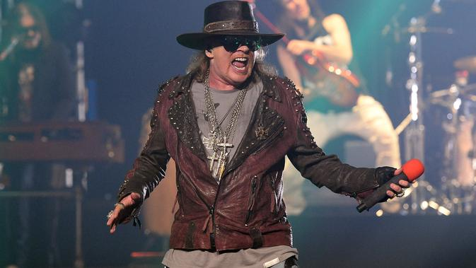 Axl Rose (Foto: ETHAN MILLER / GETTY IMAGES NORTH AMERICA / AFP)