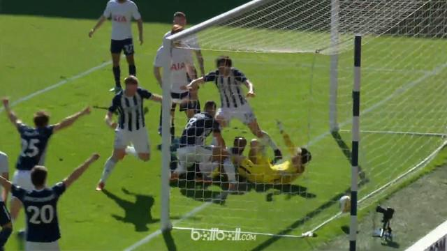 Jake Livermore berhasil membawa West Brom taklukkan Tottenham Hotspur di menit akhir. This video is presented by Ballball.