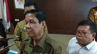 Pelaksana tugas (PLT) Gubernur Provinsi Kepri Isdianto menolak rencana pemulangan 2.000 anak buah kapal alias kru kapal pesiar dari Australia. (Foto: Liputan6.com/Ajang Nurdin)