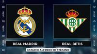 La Liga - Real Madrid Vs Real Betis (Bola.com/Adreanus Titus)