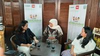 Pemprov Jawa Timur gandeng gojek dalam pengembangan potensi daerah dan pelayanan publik di Jawa Timur. (Foto: Liputan6.com/Dian Kurniawan)