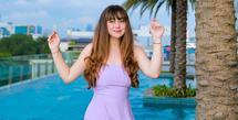 Nama Celine Evangelista disebut sebagai pemicu batalnya pernikahan Vicky Prasetyo dan Kalina Oktarani. Tak ingin memperkeruh suasana, Celine pun buka suara.  (Instagram/celine_evangelista)
