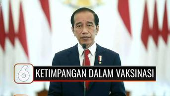 VIDEO: Presiden Jokowi Soroti Ketimpangan Vaksinasi Covid-19 Antarnegara di Sidang PBB