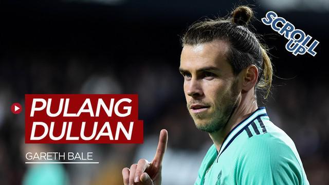 Berita video Scroll up membahas Gareth Bale yang tidak diikut sertakan dalam pertandingan semifinal Copa del Rey antara Real Madrid dengan Real Sociedad dan hanya menjadi penonton saat pertandingan tersebut.