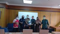 Audiensi antara pengurus PSIS Semarang, Panser Biru, dengan Komisi E DPRD Provinsi Jawa Tengah di Semarang, Senin (4/1/2021). (Dok PSIS Semarang)