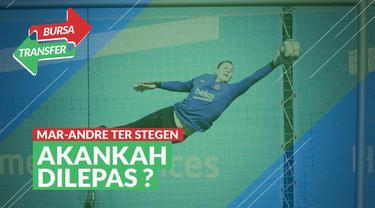 Berita Video bursa transfer, mengintip latihan kiper Barcelona, Marc-Andre Ter Stegen yang diisukan akan hengkang