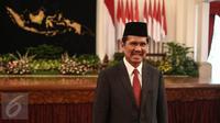 Asman Abnur menjadi Menteri PANRB menggantikan Yuddy Chrisnandi (Liputan6.com/Faizal Fanani)