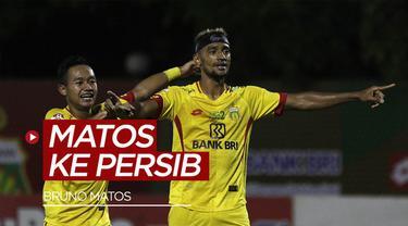 Berita video menurut situs Transfermarkt memberitahukan bahwa Bruno Matos masuk ke Persib Bandung setelah sebelummya membela klub Bhayangkara FC.