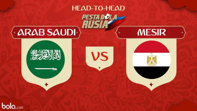Berita video head-to-head Piala Dunia Rusia 2018: Arab Saudi vs Mesir.