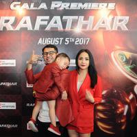 Premier film Rafathar (Daniel Kampua/bintang.com)