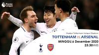 Prediksi Tottenham vs Arsenal (Trie Yas/Liputan6.com)