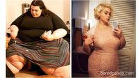 Transformasi sukses diet (Sumber: Boredpanda)