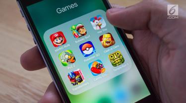 Ilustrasi Game mobile