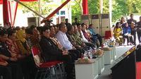 Peringatan Hari Anti Narkoba Internasiona di Bogorl dihadiri sejumlah tokoh.