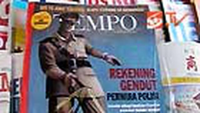"Selain di Jakarta, majalah Tempo edisi terbaru, ""Rekening Gendut Perwira Polisi"" tak ditemukan di Depok, Jabar dan Tangerang, Banten. Diduga ada pihak tertentu yang risi dengan pemberitaan seputar rekening milik para jenderal Polri."