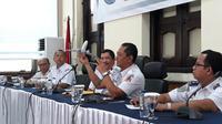 KNKT memaparkan temuan awal jatuhnya Lion Air PK-LQP (Merdeka.com/Hari Ariyanti)