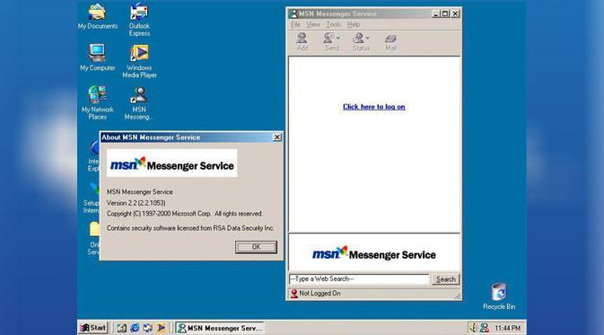 MSN Messenger. (Doc: The Verge)