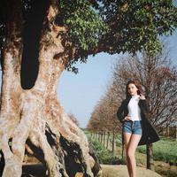 Candice punnya panjang kaki 110 sentimeter. (Sumber Foto: Instagram/candice0723)