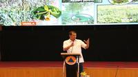 Kepala Badan Nasional Penanggulangan Bencana (BNPB) Doni dalam Rapat Pemanfaatan Lahan Gambut di lantai 15, Graha BNPB, Jakarta, Kamis (25/7/2019). (Dok BNPB)