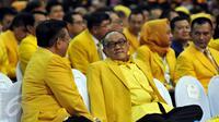 Ketua Dewan Pembina Partai Golkar Aburizal Bakrie (Liputan6.com/Johan Tallo)