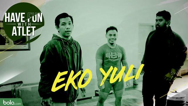 Berita Video Lifter Indonesia, Eko Yuli Irawan Ajarkan Teknik Angkat Besi