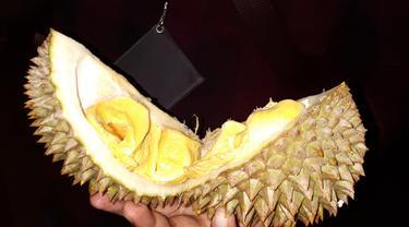 Pesta durian Musang King 300 Kg di Kedutaan Malaysia. (Liputan6.com/Tanti Yulianingsih)