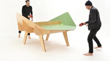 4 Desain Meja Ping Pong Baru yang Membuat Pemain Lebih Tertantang Ini Unik
