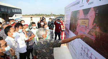 Kepala BP Batam Muhammad Rudi mengatakan, kawasan Bandara Hang Nadim akan dirancang menjadi sebuah kawasan hub logistik yang akan meningkatkan perekonomian dan industri di Kota Batam. (Dok BP Batam)