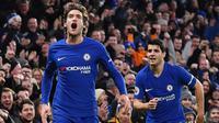 10. Marcos Alonso (Chelsea) - Bek Kiri. (AFP/Ben Stansall)